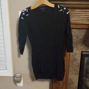 Material Girl sweater dress!